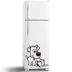 Adesivo de Geladeira Dog Fresh