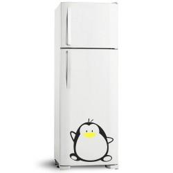 Adesivo de Geladeira Pinguim 01