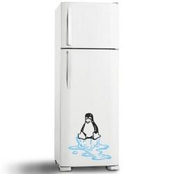 Adesivo de Geladeira Pinguim 22