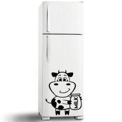 Adesivo de Geladeira Vaca Milk