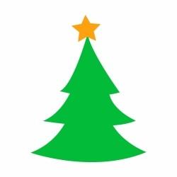Adesivo de Parede Árvore de Natal
