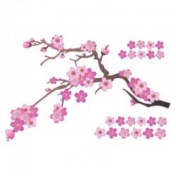 Adesivo de Parede Blossom Rosa