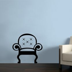 Adesivo de Parede Cadeira Estofada