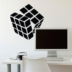 Adesivo de Parede Cubo Mágico 2