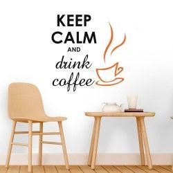 Adesivo de Parede Drink Coffee