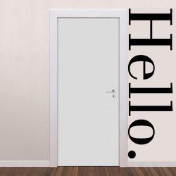 Adesivo de Parede Hello