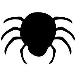 Adesivo de Parede Lousa Aranha