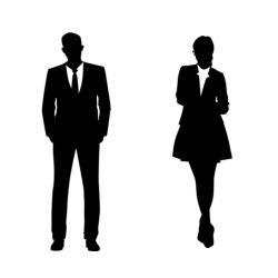 Adesivo de Parede Man e Woman