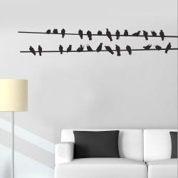 Adesivo de Parede Pássaro 11