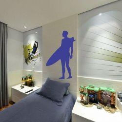 Adesivo de Parede Surfista 02