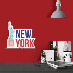 Adesivo de Parede Travel New York