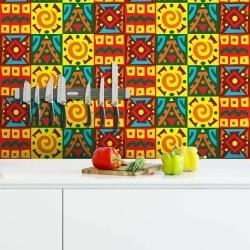 Adesivo para Azulejo África Color