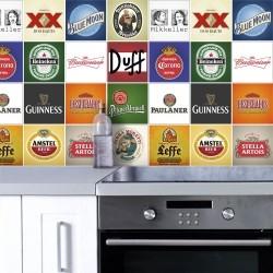 Adesivo para Azulejo Beers