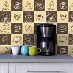 Adesivo para Azulejo Coffee