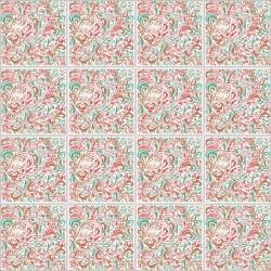 Adesivo para Azulejo Floral Atraente