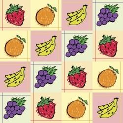 Adesivo para Azulejo Frutas