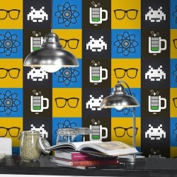Adesivo para Azulejo Geek