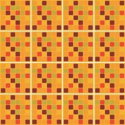 Adesivo para Azulejo Pastilhas Outono