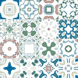 Adesivo para Azulejo Português