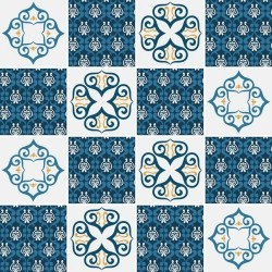 Adesivo para Azulejo Vicenza Blue