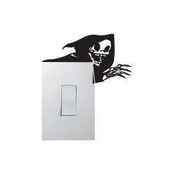 Adesivo para Interruptor Esqueleto