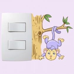 Adesivo para Interruptor Monkey