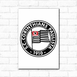 Corinthians - Placa Decorativa 1920