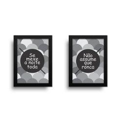 Placa Decorativa Kit Casal Engraçado