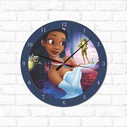 Relógio Decorativo A Princesa e o Sapo
