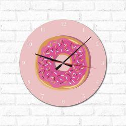 Relógio Decorativo  Rosquinha