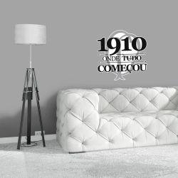 Corinthians - Adesivo de Parede 1910 Começo