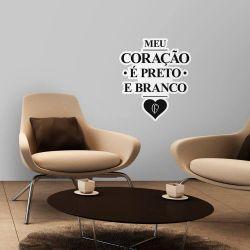 Corinthians - Adesivo de Parede Coração Vintage