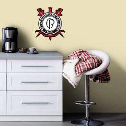 Corinthians - Adesivo de Parede Emblema Guerreiro