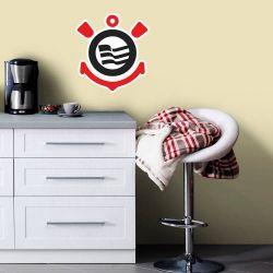 Corinthians - Adesivo de Parede Logo Premium