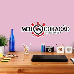 Corinthians - Adesivo de Parede Meu Coração