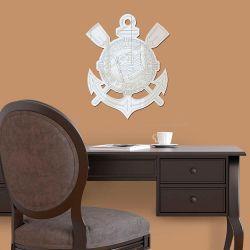 Corinthians - Espelho Decorativo Logo Clean