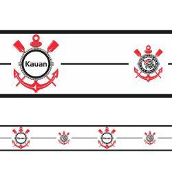 Corinthians - Faixa de Parede Nome Logo