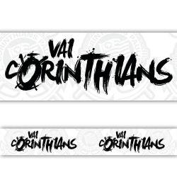 Corinthians - Faixa de Parede Vai