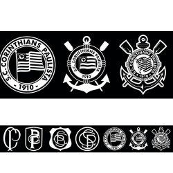Corinthians - Faixa de Parede Vintage Black
