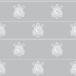 Corinthians - Papel de Parede Lines Gray