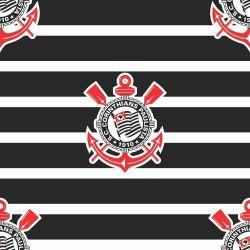 Corinthians - Papel de Parede Listras Horizontal