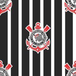 Corinthians - Papel de Parede Listras Vertical