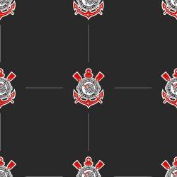 Corinthians - Papel de Parede Pattern Preto