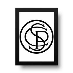 Corinthians - Placa Decorativa 1917