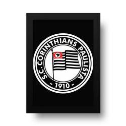 Corinthians - Placa Decorativa 1920 Black
