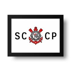 Corinthians - Placa Decorativa SCCP