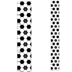 Corinthians - Régua de Crescimento Bola e Logo
