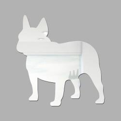 Espelho Decorativo Bulldog Francês