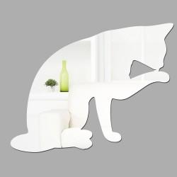 Espelho Decorativo Cat Licking