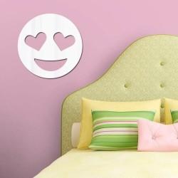 Espelho Decorativo Emoji Apaixonado